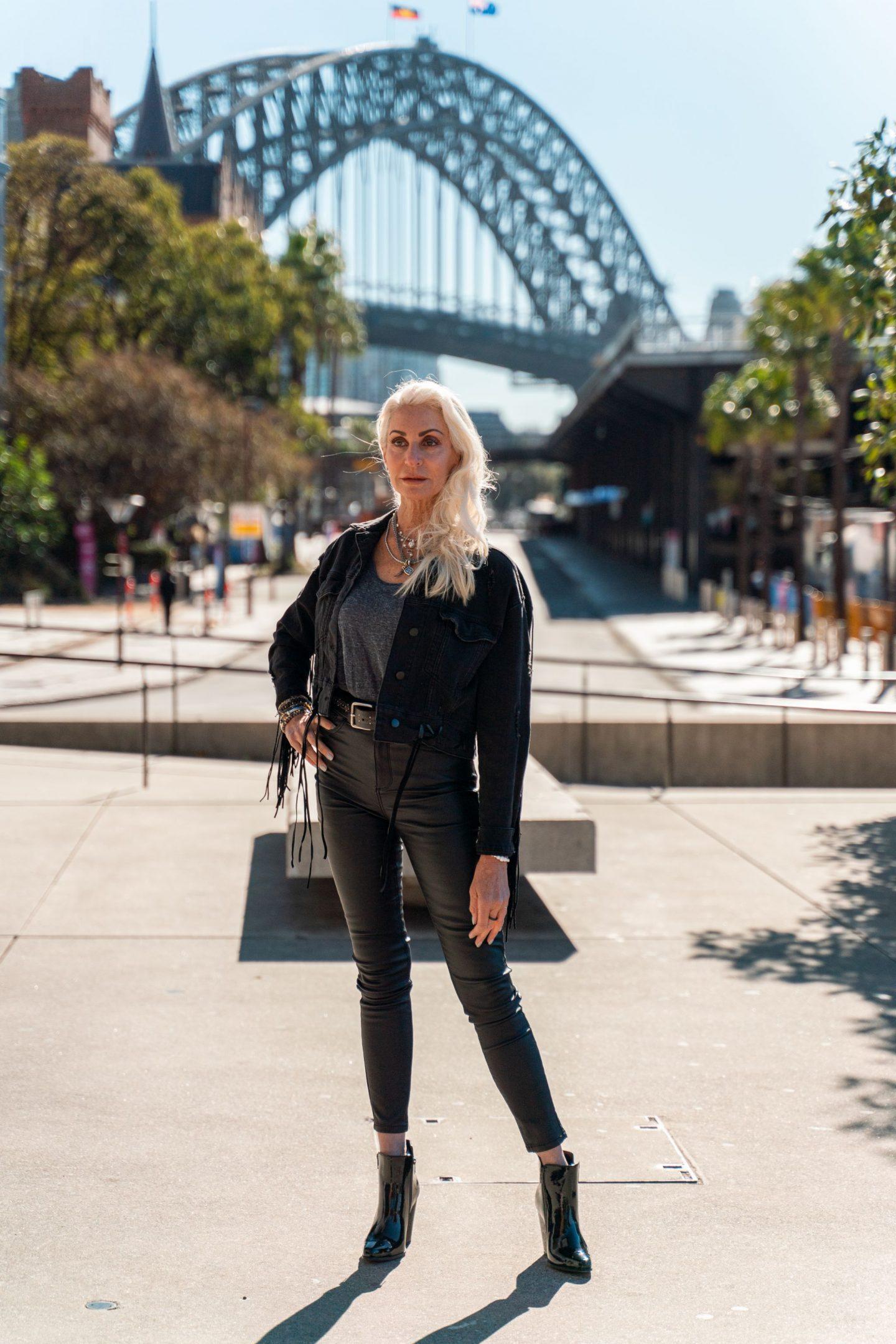 debbie corley fashion photoshoot - adventure in Australia