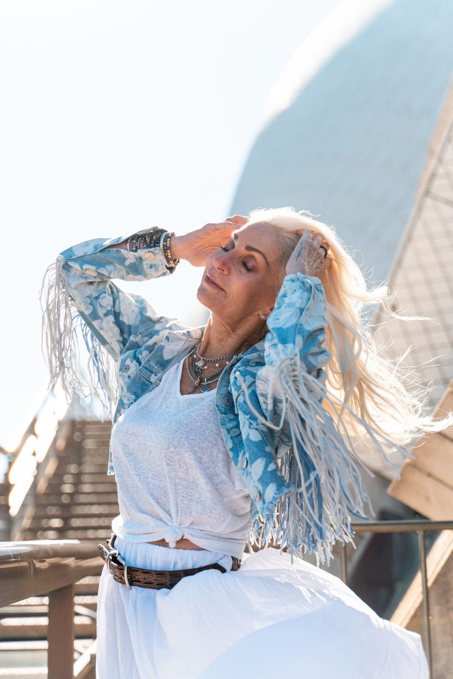 debbie corley fashion photoshoot - adventure in Australia
