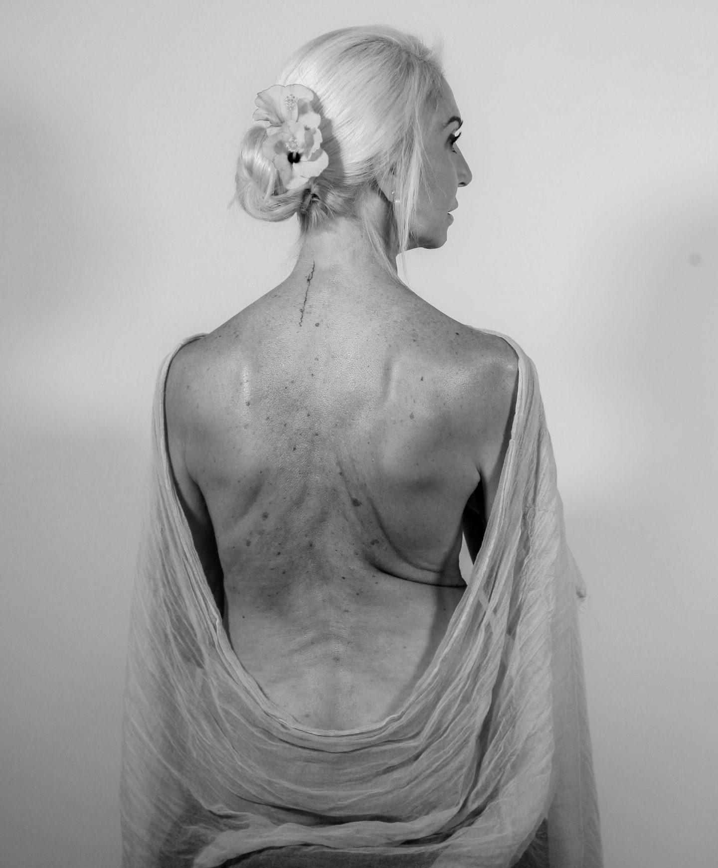 silver hair model